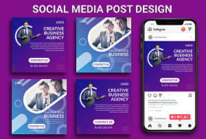 I will  design creative social media banner