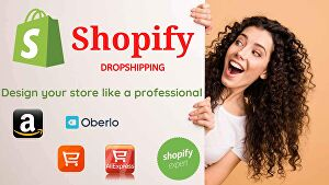 I will build and design your professional Shopify Store