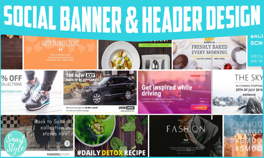 Design Great Looking Banner or Header Image for Your Website or Blogs