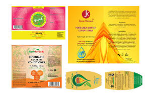 I will design professional product label for your product