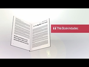 I will make your 3d book promotional video