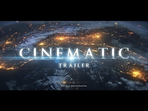 I will create this cinematic trailer for your game or book or event