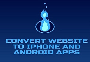 I will convert website to iPhone and android apps