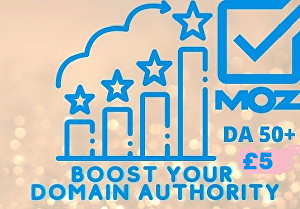 I will increase Moz domain authority to 50 plus