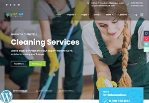 I will make a cleaning booking service website using WordPress