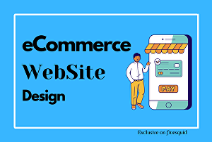 I will design e-commerce Website