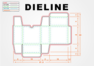 I will do dieline, cutline for box, labels ,stickers and logo