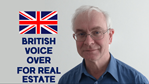 I will provide a British English voiceover for your real estate script