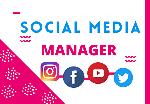 I will be your personal social media marketing manager
