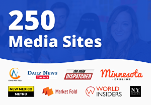 I will publish and distribute your press release to 250 Top Ranking media sites