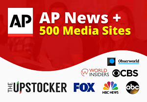 I will publish and distribute your press release to AP News and 500+ Top Ranking media sites