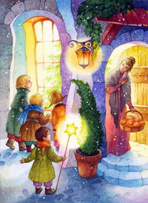 I will draw your high resolution children book illustration