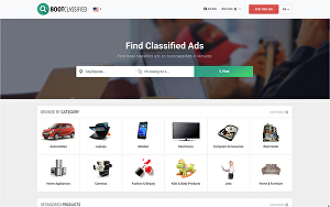 I will design a professional classified ads website in WordPress