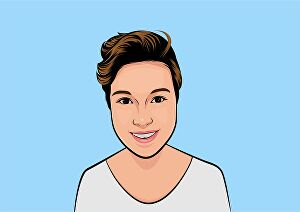 I will draw nice style cartoon caricature as a profile picture