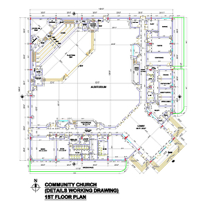 I will Create AutoCAD 2d Floor Plan Working Drawing