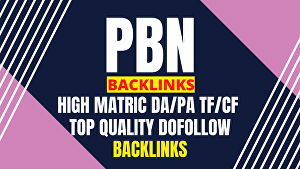 I will Build 30 High Quality and Trust Flow  Do-Follow High DA/40+ Permanents PBN Backlinks