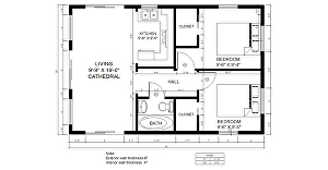 I will draw and redraw your architectural floor plans in AutoCAD