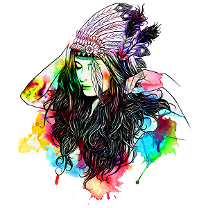 I will do amazing watercolor t shirt design for you