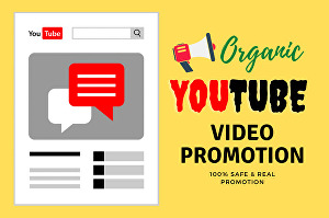 I will do fast organic youtube video promotion & marketing