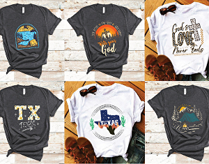 I will create t-shirt design for your POD business