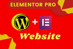 I will design a full website, landing page in elementor pro 24 hrs