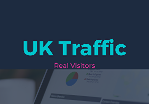 I will drive UK country targeted traffic to your website