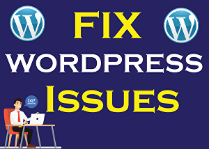 I will Fix Any WordPress Issues in Quick Time
