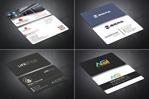 I will create clean quality Business Card Design