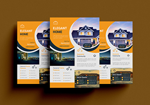I will design professional real estate and business flyer or brochure