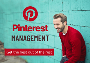 I will do complete Pinterest SEO profile management, pins and boards