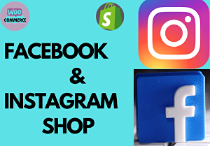 I will connect eCommerce website with facebook & instagram shop
