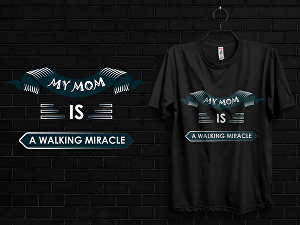 I will do mothers day t shirt design
