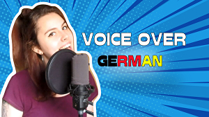 I will record a voice over in german for your project