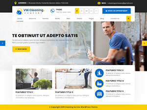 I will create  cleaning booking website