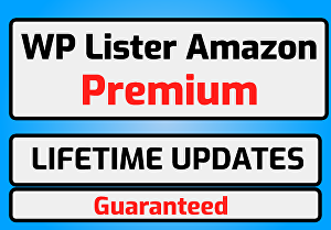 I will provide WP-lister pro for Amazon with Lifetime Updates