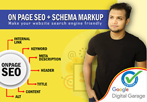 I will do WordPress On Page , Off Page SEO & Optimize website