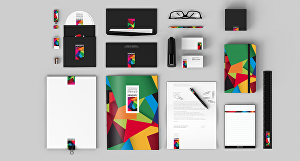 I will do a beautiful brand identity with full stationery items
