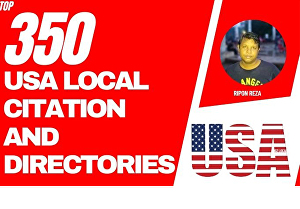 I will Create  USA local citations or Local Business Listing and Directory submission for Local S