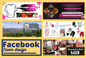 I will design a professional Facebook cover for you