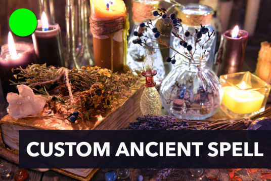cast custom ancient spell and make your destiny as you want