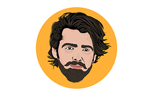 I will draw awesome vector portrait art from your image