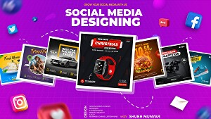 I will design engaging social media post stories banner ads