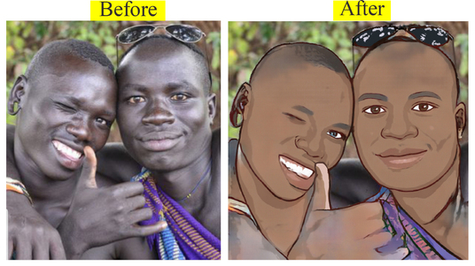 make cartoon caricature from your photo