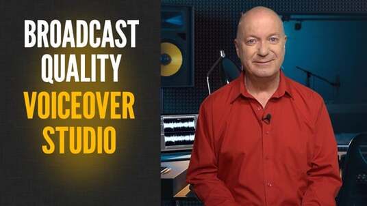 record a professional male voiceover recording in my broadcast quality studio - up to 350 words