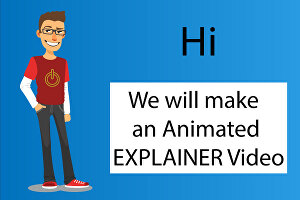 I will create animated explainer video
