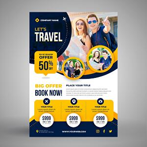 I will design professional flyer & brochure for your business