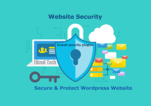 I will install WordPress Website Security plugin and set up professionally