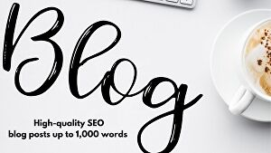 I will write original SEO blog posts up to 1,000 words for your website