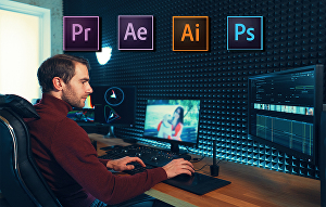 I will do professional video editing and post-production using adobe premiere pro and after effec