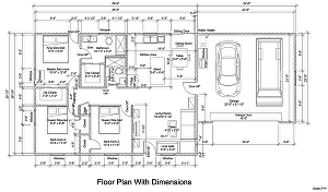 I will draw floor plan for real estate agents